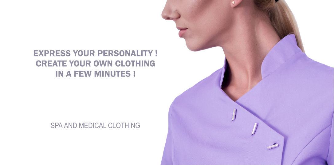 Spa and medical clothing